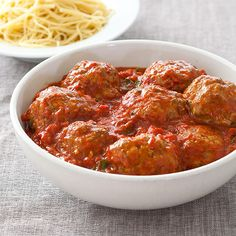 Meatballs & Marinara from Cook's Country