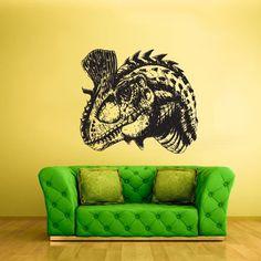Wall Vinyl Sticker Decals Decor Art Bedroom Kids Design Mural Nursery Head Dinosaur Dino Detailed (Z2212) StickersForLife http://www.amazon.com/dp/B00H4AED0W/ref=cm_sw_r_pi_dp_WJVoub0SVKAMP