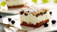 Puszysty placek borówkowy - przepis   • Kuchnia Lidla
