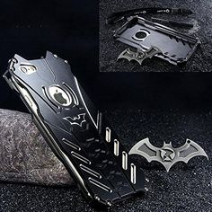 GOODKSSOP LUXURY Batman Style Shockproof Aluminum Bumper ...