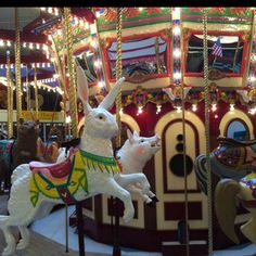 Carousel in Seaside Oregon