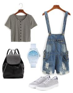 Casual and Sport Outfit by jenimarrivera on Polyvore featuring polyvore, fashion, style, Barbour, Witchery, Lacoste and clothing