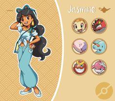 Et si les princesses Disney se retrouvaient dans le prochain RPG Pokemon ?