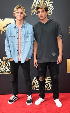 Joshua Holz & Daniel Lara from MTV Movie Awards 2016 Red Carpet Arrivals  The creative minds behind the viral clip Damn Daniel get a taste of the awards show life. NEXT GALLERY: Best of the Red Carpet