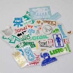 skateboard stickers pack