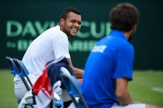 Jo-Wilfried Tsonga - Coupe Davis - juillet 2015