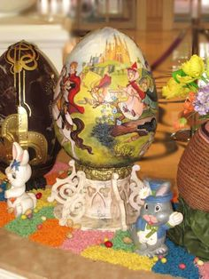 The most amazing part is that they're all TOTALLY EDIBLE. | These Disney Easter Eggs Will Blow Your Mind