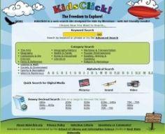 Info lit: research E-resources for kids e.g. KidsClick Search Engine
