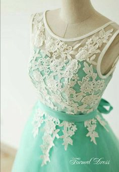Custom Made A-Line Round Neck Light Green Short Lace Prom Dresses, Homecoming Dresses,  Graduations Dresses #prom #promdress #dress #homecoming #promgown #shortpromdress #dresses #evening#HocodressDresses,Evening Dresses,Homecoming Dress