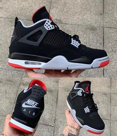 "fffedeb0070 UNBREAKABLE KICKS - YOUTUBER on Instagram: ""YALL CALL THESE BRED 4s or  Black Cement 4s?"""