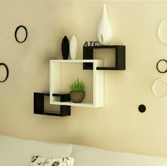 7 Jolting Tricks: Large Floating Shelf floating shelves with pictures headboards.How To Make Floating Shelves Posts floating shelf design. Living Room Furniture, Living Room Decor, Diy Furniture, Black Furniture, Living Rooms, Furniture Storage, Kitchen Furniture, Furniture Design, Small Furniture