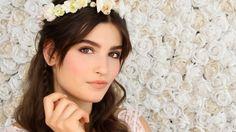 Chic bohemian bridal makeup tutorial by Lisa Eldridge with Lancôme