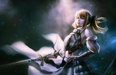 saber lily, vader c on ArtStation at https://www.artstation.com/artwork/VJDON