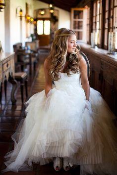 Wedding hair by Allie Paronelli