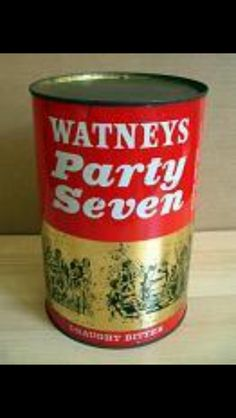 Party Seven Beer - won one of these at a country fair in a wrestling match. A strange idea to have 7 pints in one can it tasted dodgy and how they arrived at 7 is beyond me. Magic Memories, Great Memories, Childhood Toys, Childhood Memories, Uk History, Retro Recipes, I Remember When, Past Life, Old Tv