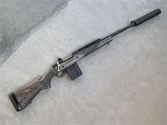 Ruger Gunsite Scout Rifle    silenced 308