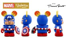 Marvel Vinylmation Series 1 Captain America