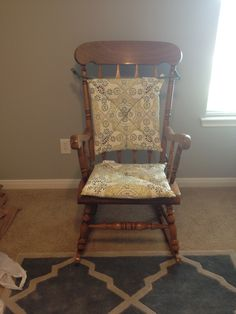 Rocking chair with cushions from World Market
