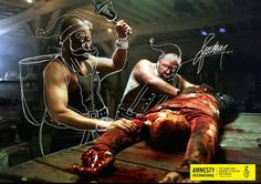 Kreative Print-Kampagne für Amnesty International   KlonBlog