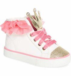 f4e01e517a7733 WellieWishers from American Girl Ashlyn Crown High Top Sneaker (Walker