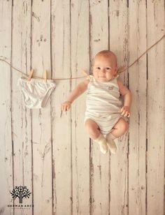 ☆干された〜☆洗濯された赤ちゃん写真☆ もっと見る