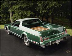 1977 Lincoln Mark V utility conversion