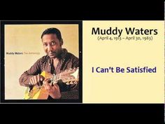"Muddy Waters 1913 – 1983 born McKinley Morganfield was an American blues musician, plays the guitar and is considered the ""father of modern Chicago blues"". - I Can't Be Satisfied. Kind Of Blue, Muddy Waters, Blues Music, Kinds Of Music, Brave, Jazz, Film, My Love, Words"