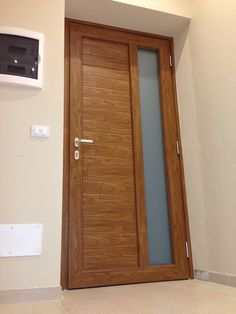 #Porta #Ingresso in #PVC #Oknoplast #Ospedaletti   www.gallisrl.eu