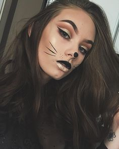 Maa a fazer e se inspire com 20 ideias Cat Halloween Makeup, Halloween Inspo, Easy Halloween Costumes, Fairy Costumes, Fairy Makeup, Mermaid Makeup, Mermaid Hair, Fantasy Hair, Fantasy Makeup
