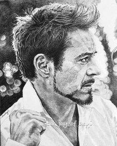 Completed sketch no. 13 in week 20 of 2018 of Robert Downey Junior. He is my favorite Avenger. I like him as Sherlock Holmes too! Portrait Sketches, Pencil Portrait, Avengers Drawings, Iron Man Wallpaper, Celebrity Drawings, Downey Junior, Robert Downey Jr, Tony Stark, Sherlock Holmes