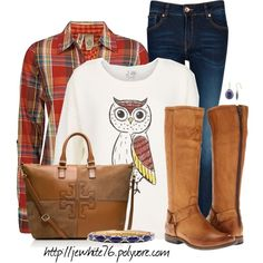 """Owl Love You Forever"" by jewhite76 on Polyvore"