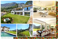 This beautiful mansion is located in Hout Bay, Cape Town, South Africa! Click the image for more information! 6 Bedroom House, Cape Town, South Africa, Beautiful Homes, Mansions, Luxury, House Styles, Image, Collection