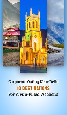 If you're searching for some destinations for a corporate outing near Delhi, then Rishikesh, Jim Corbett, and Chail are some of the best destinations . Jim Corbett, North India, Rishikesh, Amazing Destinations, Notre Dame, Building, Fun, Travel, Viajes