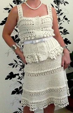 Sidney Artesanato: Crochet ...um estilo