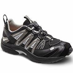 7c547cf846d1 Dr. Comfort Men s Performance X Black Grey Diabetic Athletic Shoes 15 3E US  Review Best