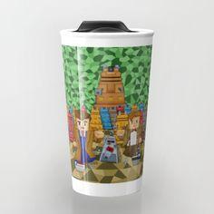 8bit Doctor who vs dalek iPhone 4 4s 5 5c 6, pillow case, mugs and tshirt #travelmug #mug #tardis #doctorwho #davidtennant #petercapaldi #12thdoctor #10thdoctor #11thdoctor #whedaspopartportrait #minecraft #8bit #cube #lego #games #creeper #mojang