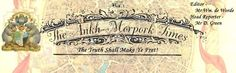 The Ankh-Morpork Times. Cover banner for the New Facebook group  The Ankh-Morpork Times...News of the Disc. by Kim White 19 Jun 2015