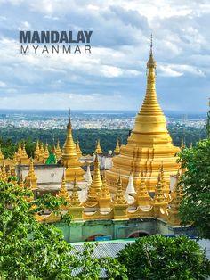 Mandalay Hill, Mandalay, Myanmar. #myanmartrip August 2017