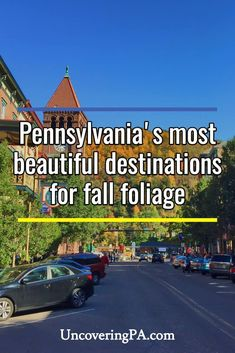 The most beautiful places in Pennsylvania to see fall foliage Beautiful Places To Travel, Best Places To Travel, Places To Go, Travel Usa, Travel Tips, Travel Destinations, Travel Ideas, Family Travel, Family Vacations