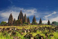 Prambanan temple on Java #Indonesia #Temple #WorldHeritage