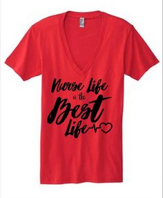 nurse shirt nurse life is the best life nursing by TheTrendyTribe