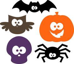 Vinyl lettering Halloween Cuties Bat Owl by thoughtsthatstick, $20.00