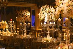 Wendy El Khoury of Wedded Wonderland has seen some of the most opulent nuptials around the world, where flower budgets are $1 million and the bride chooses from five couture wedding gowns