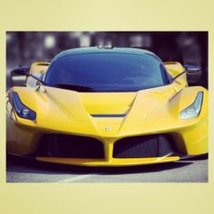I wish i had this! really into this yellow LaFerrari