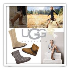 """Boot Remix with UGG : Contest Entry"" by clotheshawg ❤ liked on Polyvore featuring UGG Australia"
