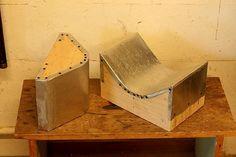 bent plywood veneer press shop made Gary Weeks
