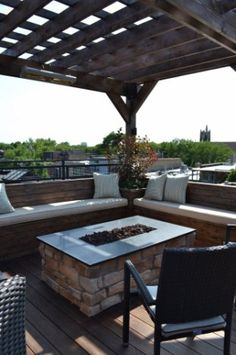 Chicago Roof Deck     Roof Decks   Landscape Design   Rooftop Design