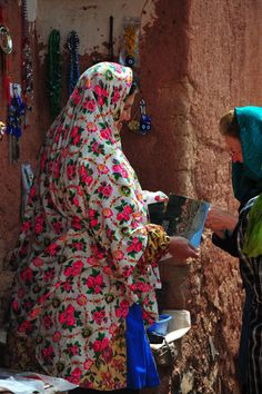 Traditional Abyaneh Clothes
