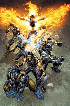 Ultimate X-Men by Mark Brooks