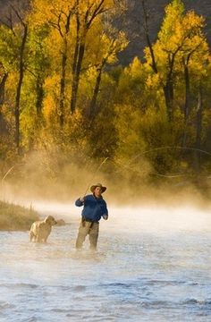 Fly Fishing the Roaring Fork River, Colorado